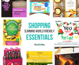 New Slimming World Shopping Essentials 24/11/17