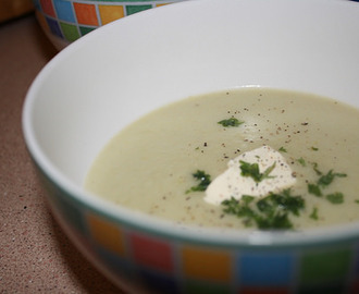 Leek, Potato and Blue Cheese Soup