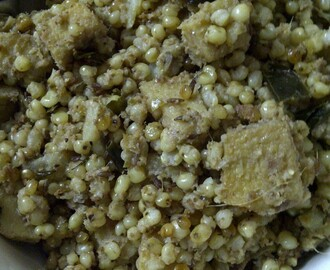 Mock Sabudana Khichdi, The Kooky Way