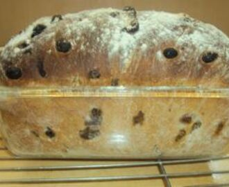 Raisin Bread - Better than a Bought One