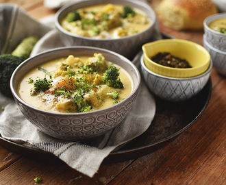 Brokkoli Cheddar Suppe
