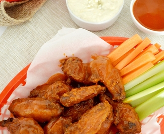 Alitas picantes o buffalo wings