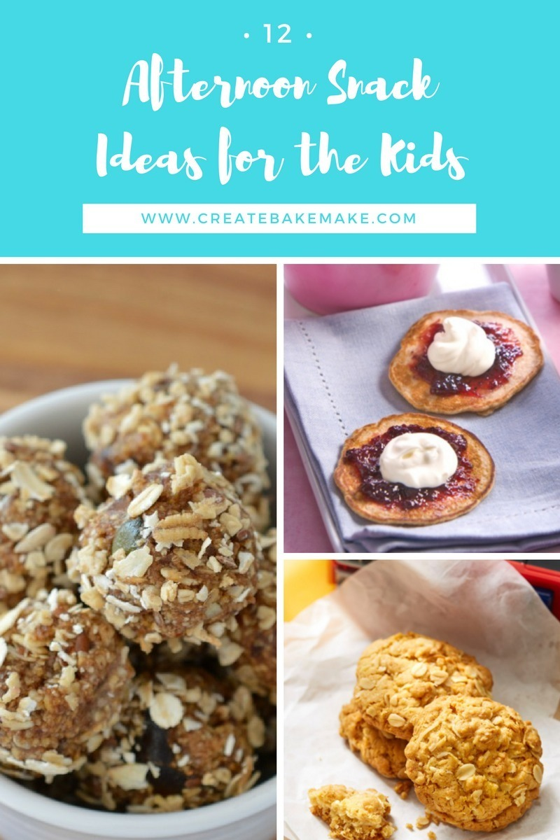 Afternoon Snack Ideas for the Kids