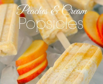 Peaches And Cream Popsicles Recipe