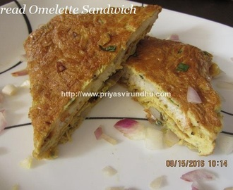 Bread Omelette Recipe/Bread Omelette Sandwich /Indian Street Style Egg Omelette Recipe