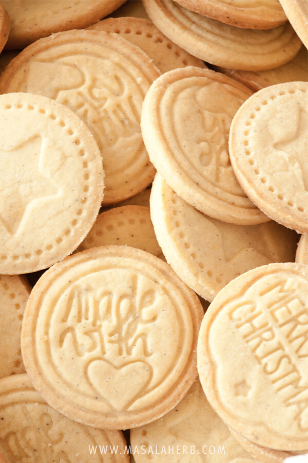 Albertle Stamped Cookies – German cookies – How to make stamped cookies