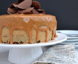 Banana Bread Caramel Layer Cake