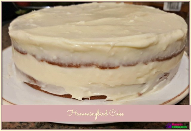 Hummingbird Cake #Recipe It's Like Carrot Cake Only with Bananas and Pineapple!