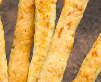 Shortbread Cheese Straws & Pretzels