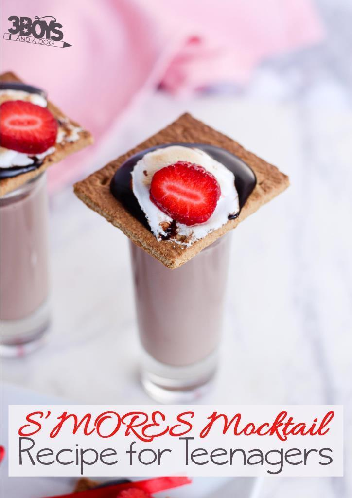 Smores Mocktail Recipe for Teens