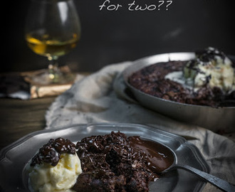 Chocolate Pudding for two