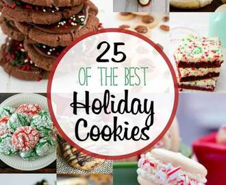 25 of the Best Holiday Cookies (and a $400 Giveaway!)