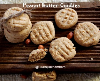 Peanut Butter Cookie [ Butter less, egg less and 3 ingredient]