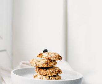 Orange and Cardamom Oat Cookies