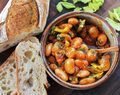 Warm Spanish-Style Giant-Bean Salad With Smoked Paprika and Celery Recipe