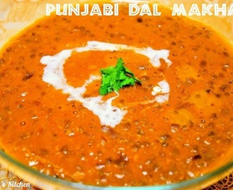 Dal Makhani | Punjabi Dal Makhani (Red Kidney Beans and Black Gram Dal)