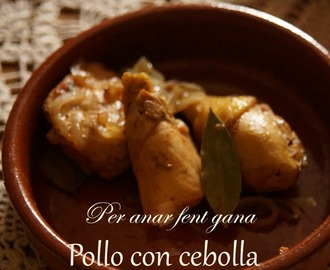 ❥ Pollo con cebolla   cooking the chef {Ferran Adriá }