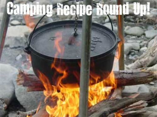 Camping Recipes Roundup & Camping Cookware Giveaway!