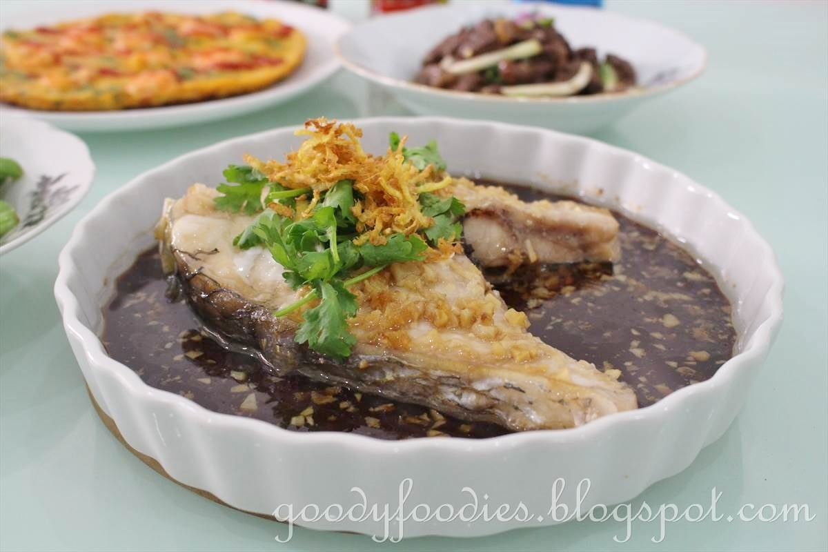 Recipe: Steamed Threadfin Fish (Ma Yau) with Soy Sauce