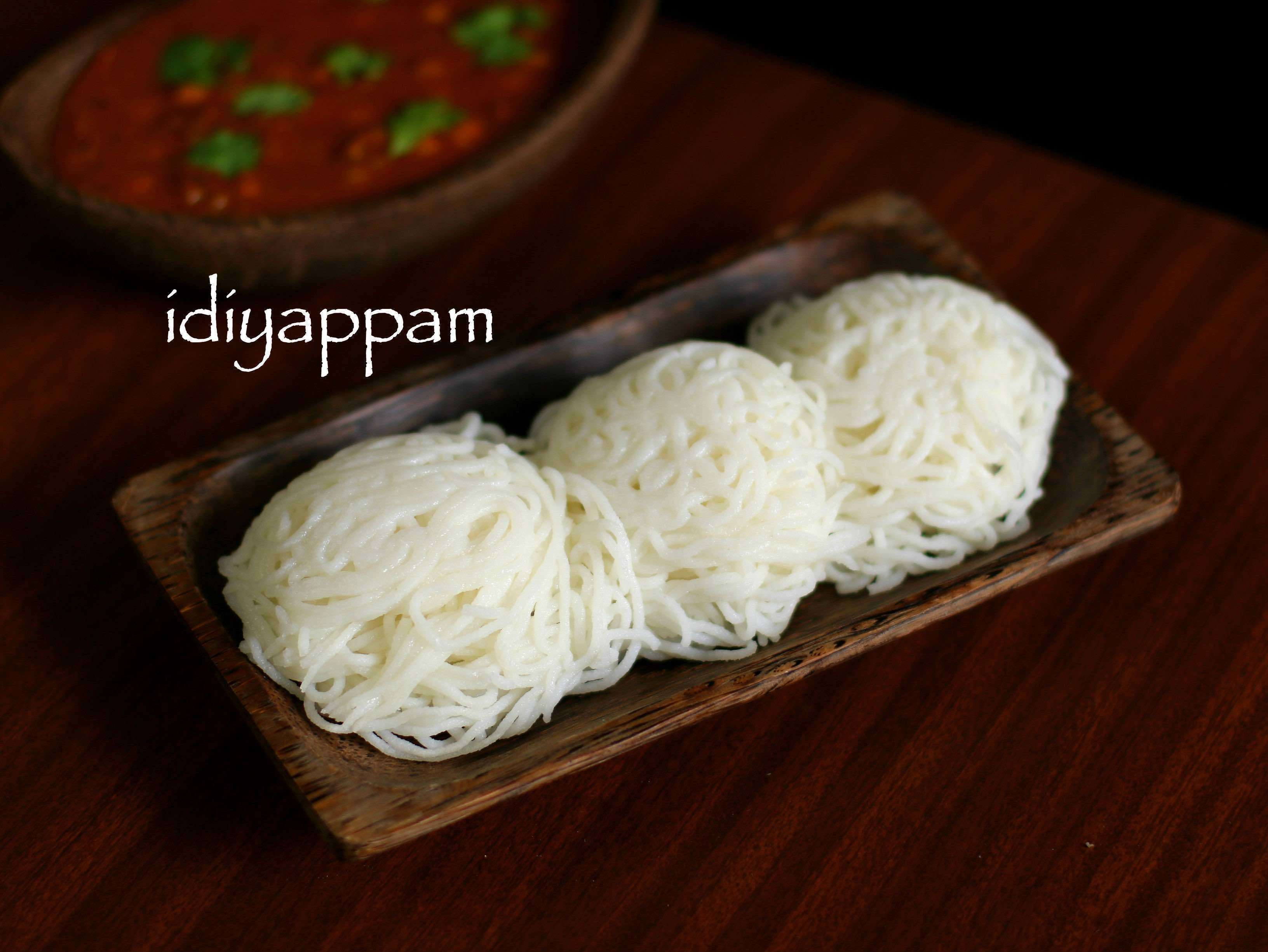 idiyappam recipe | nool puttu | kerala style idiyappam with rice flour