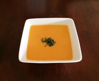 Sweet Potato, Lime & Coconut Soup