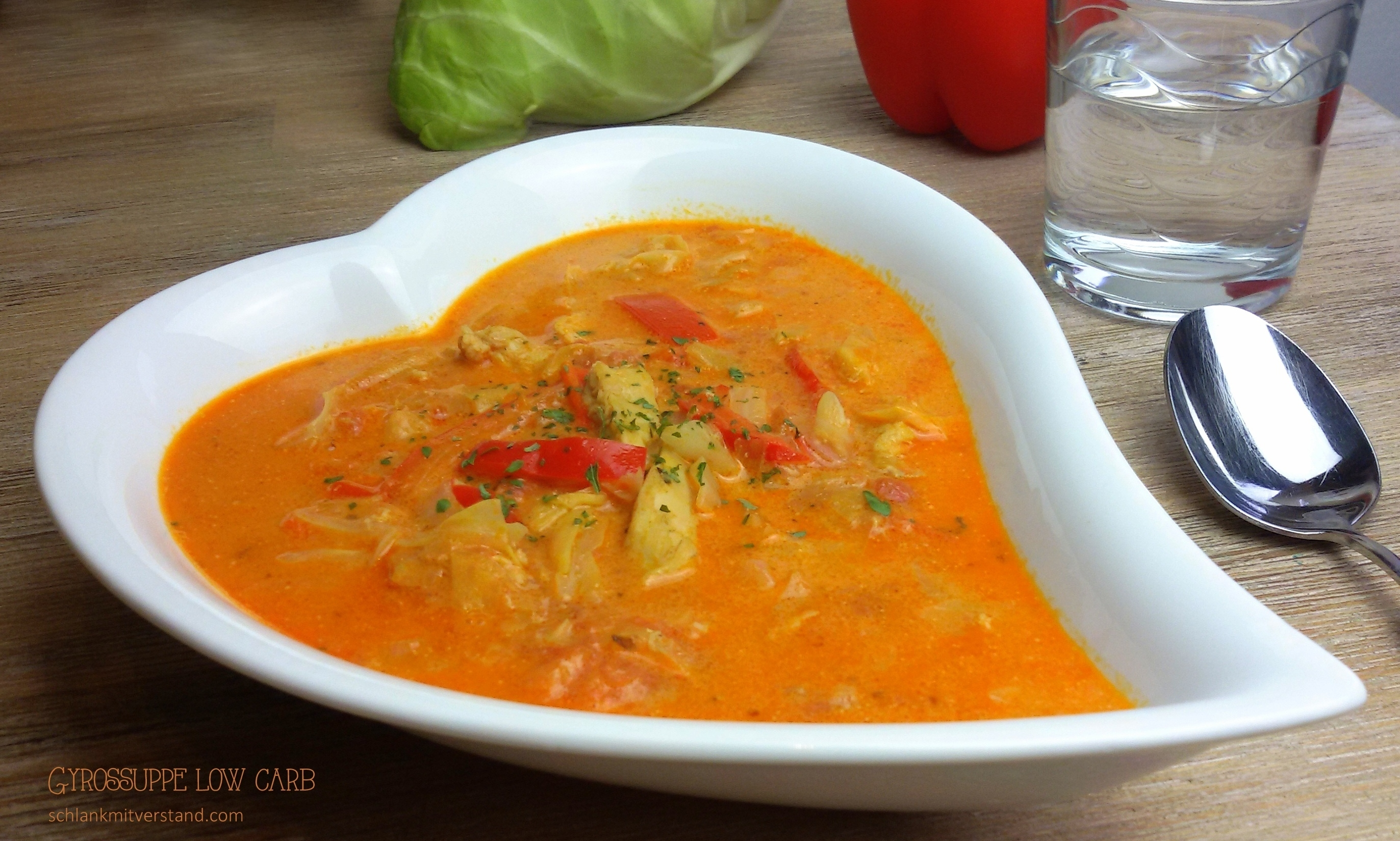 Gyrossuppe low carb