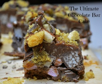 Ultimate Chocolate Bar Cake Recipe