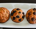 Healthy Breakfast Muffins / Banana Walnut Muffins / Banana Bread / Banana Blueberry Muffin