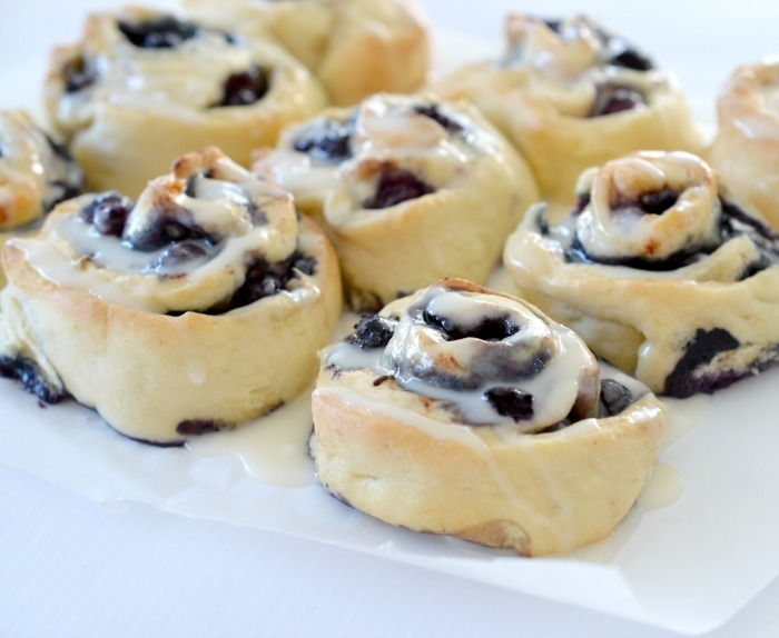 Thermomix Blueberry Scrolls