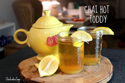 Autumn Drink Series: Chai Hot Toddy