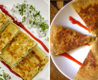 Egg Paratha Recipe | Anda Paratha in 2 Shapes