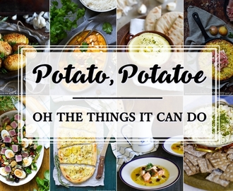 Potato, potatoe - affordable potato recipes around the world (gluten-free, vegan, kosher)