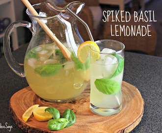Summer Drink Series: Spiked Basil Lemonade
