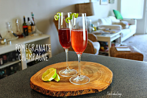 Summer Drink Series: Pomegranate Champagne