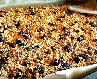 Healthy Granola - to suit you!