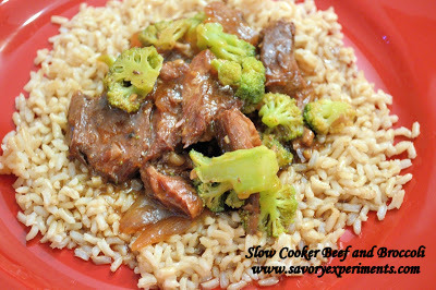 Slow Cooker Beef and Broccoli