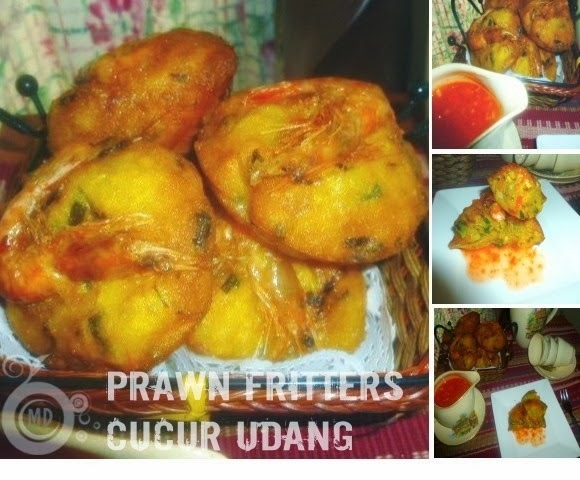 Prawn Fritters/Cucur Udang