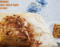 Cinnamon Sumac Spiced Apple Tea Cake