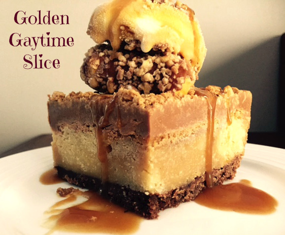 Golden Gaytime Slice Recipe