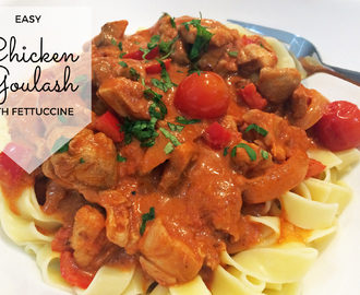 Easy Chicken Goulash Recipe