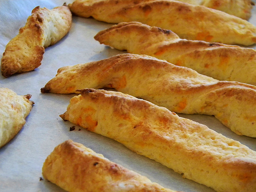 Cheesy Twists for #SundaySupper 's Second Birthday!