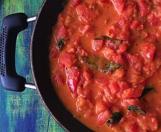 Nadan Tomato Curry | Kerala Style Tomato Curry