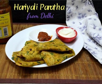 Hariyali Paratha | Methi Multi Grain Thepla from Gujarat