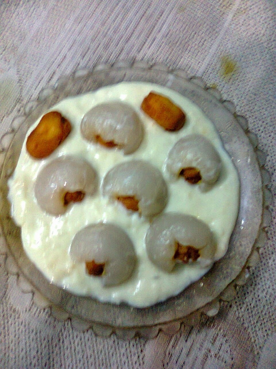 Dessert With Stuffed Lychees/Stuffed Lichu In Kheer