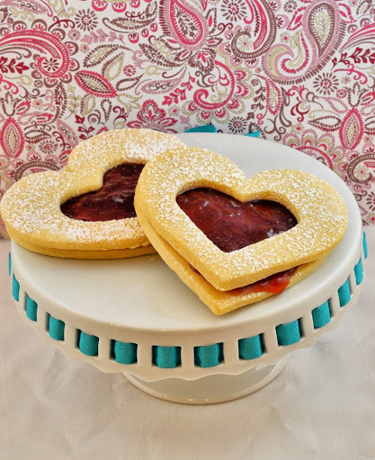 Valentines Day Strawberry Jam Cookies AND Your Chance to Win $850!!!!