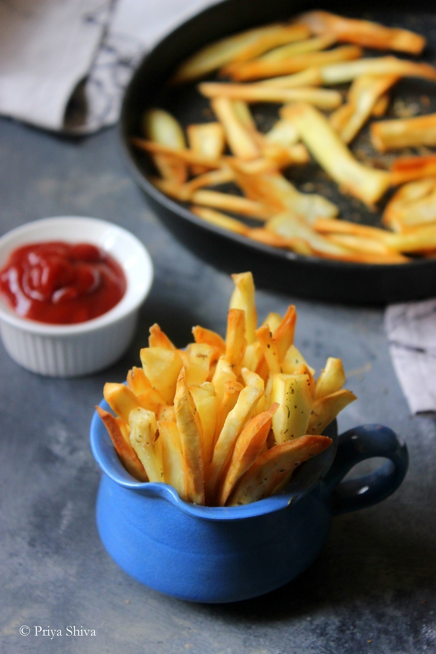 Sweet Potato French Fries Recipe