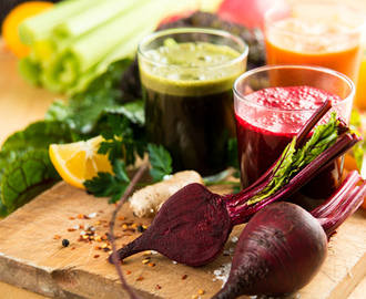 Detoxing with juices for optimal health