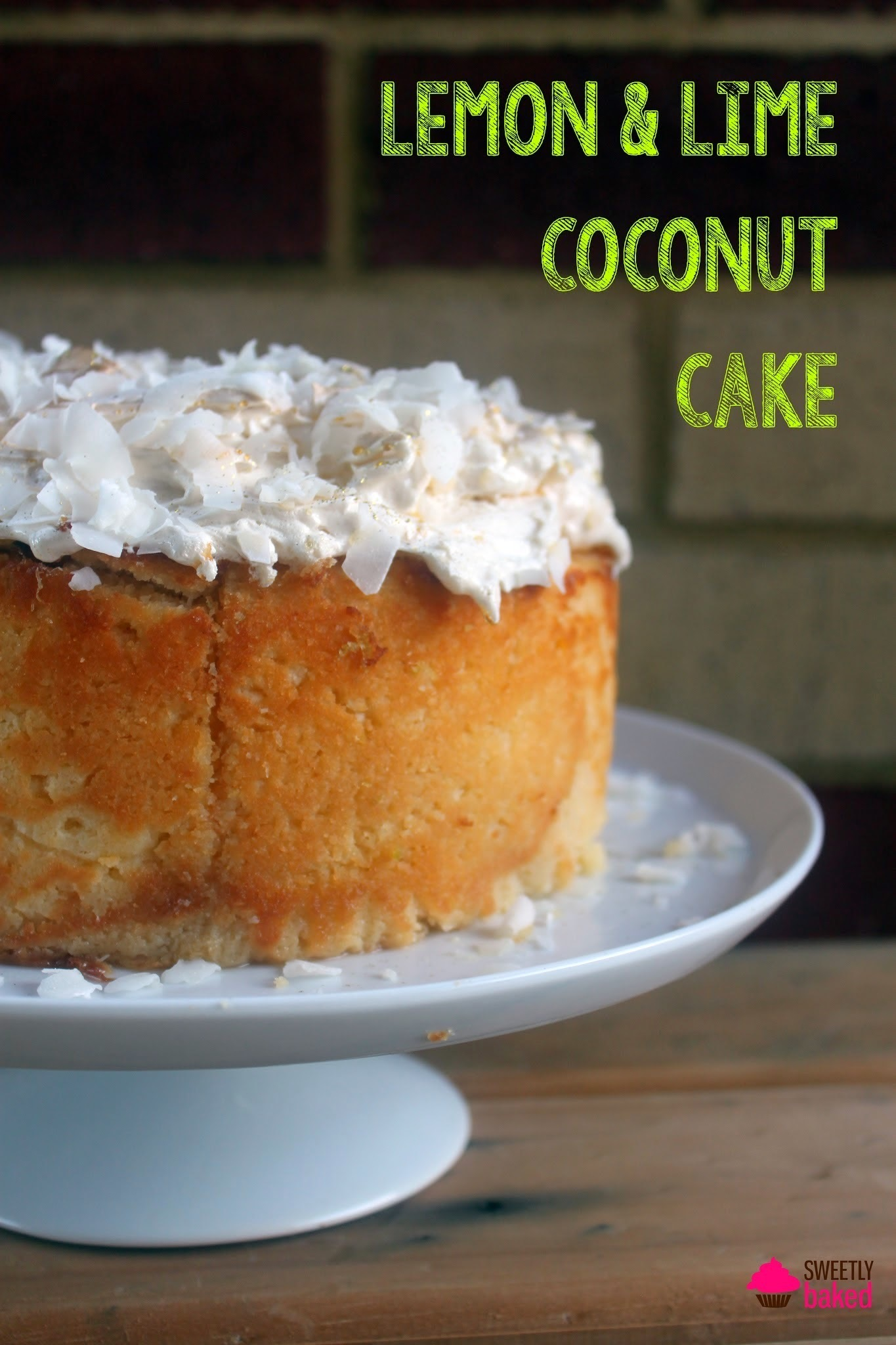 Recipe of the Week - Lemon & Lime Coconut Cake
