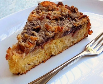 Gluten Free German Apple-Plum Cake (Secret Recipe Club)