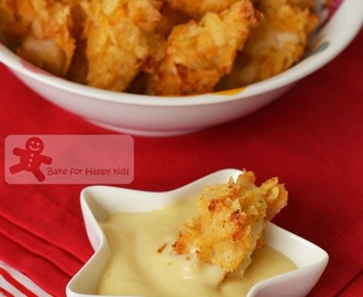 Chicken Nuggets with Honey Mustard Dips (Paula Deen)